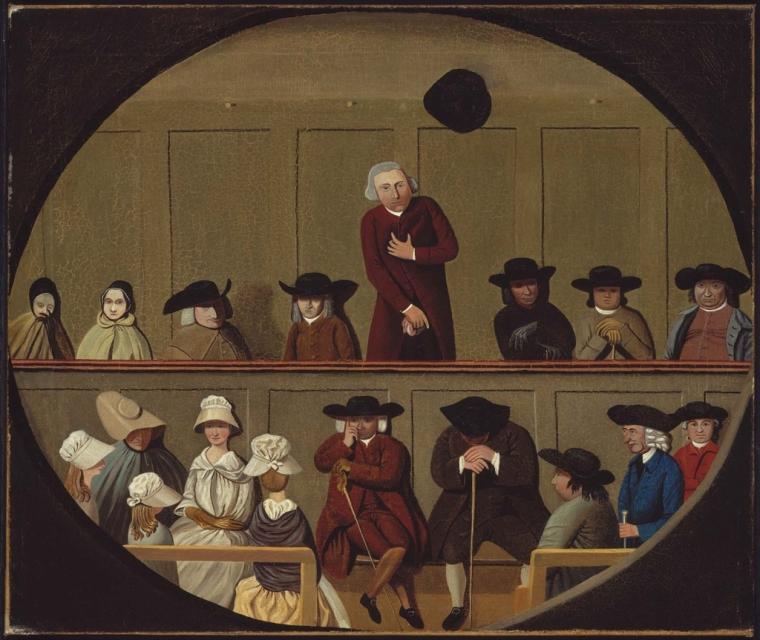 Quaker Meeting Kahn Museum of Fine Arts Boston