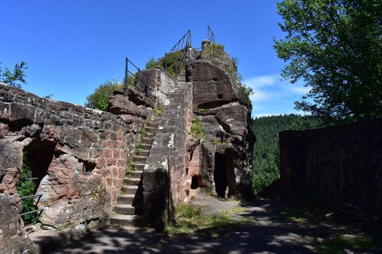 Castle Blumenstein, destroyed in Peasants' Uprising__