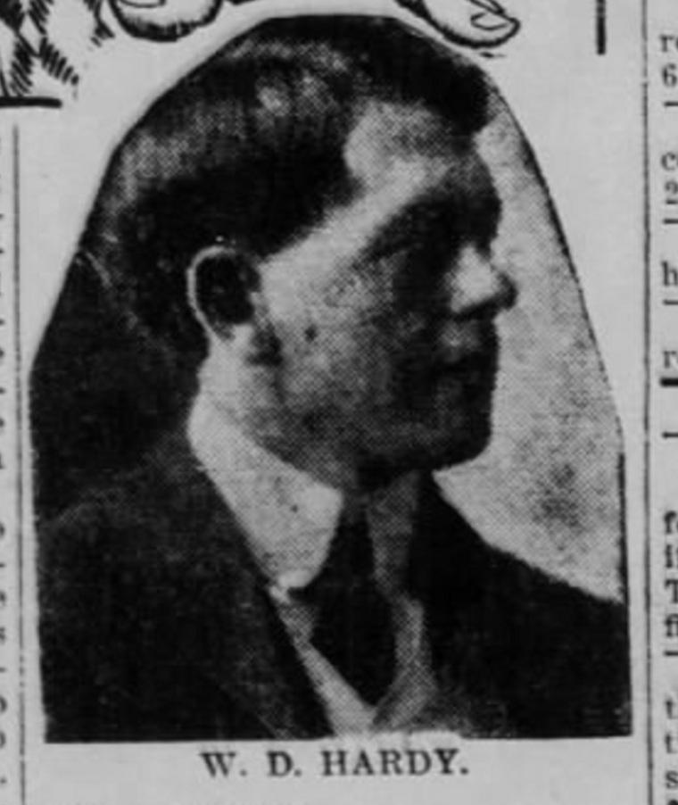 Deputy Prosecutor W.D. Hardy