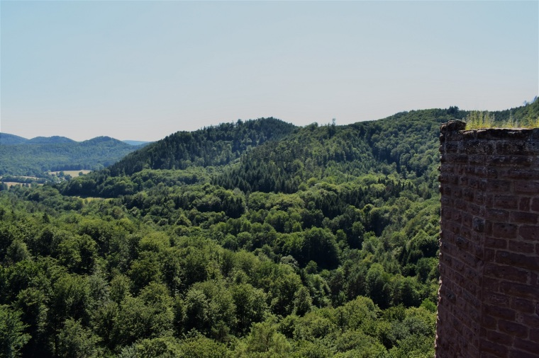 From atop Chateau Wasigenstein, looking back across valley-rdcd