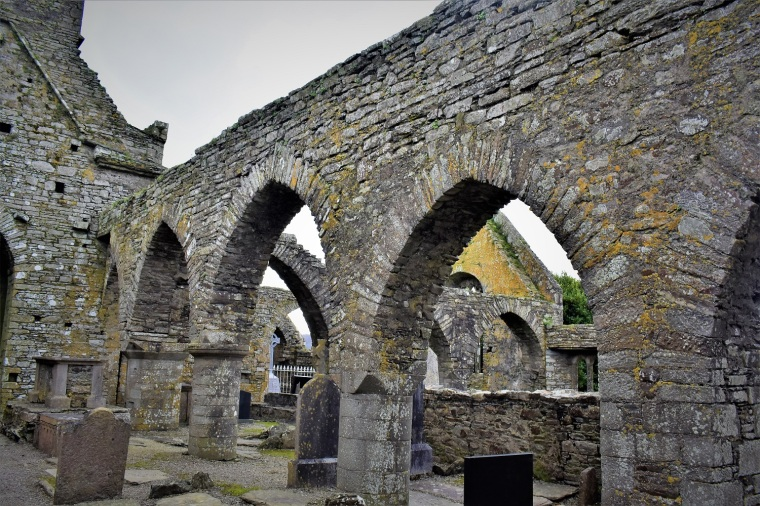 __Inside ruins of Timoleague Monastery (12th C.), burned by Cromwell 1642 - Copy