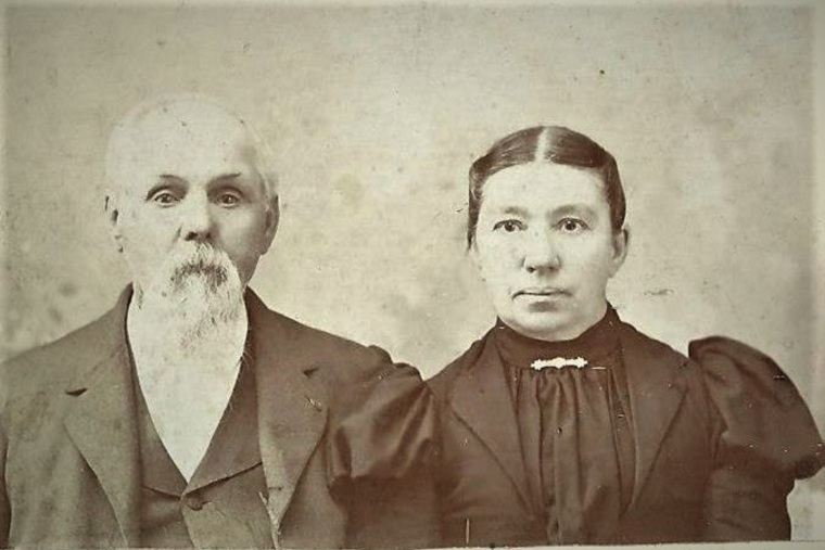 Israel Sands and Sarah Stewart (2d wife)