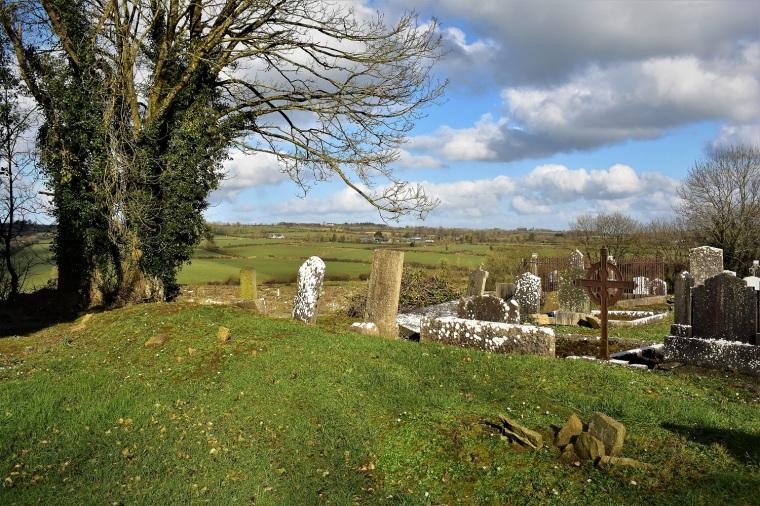 Kilmeen Graveyard site of Boherbue Church____