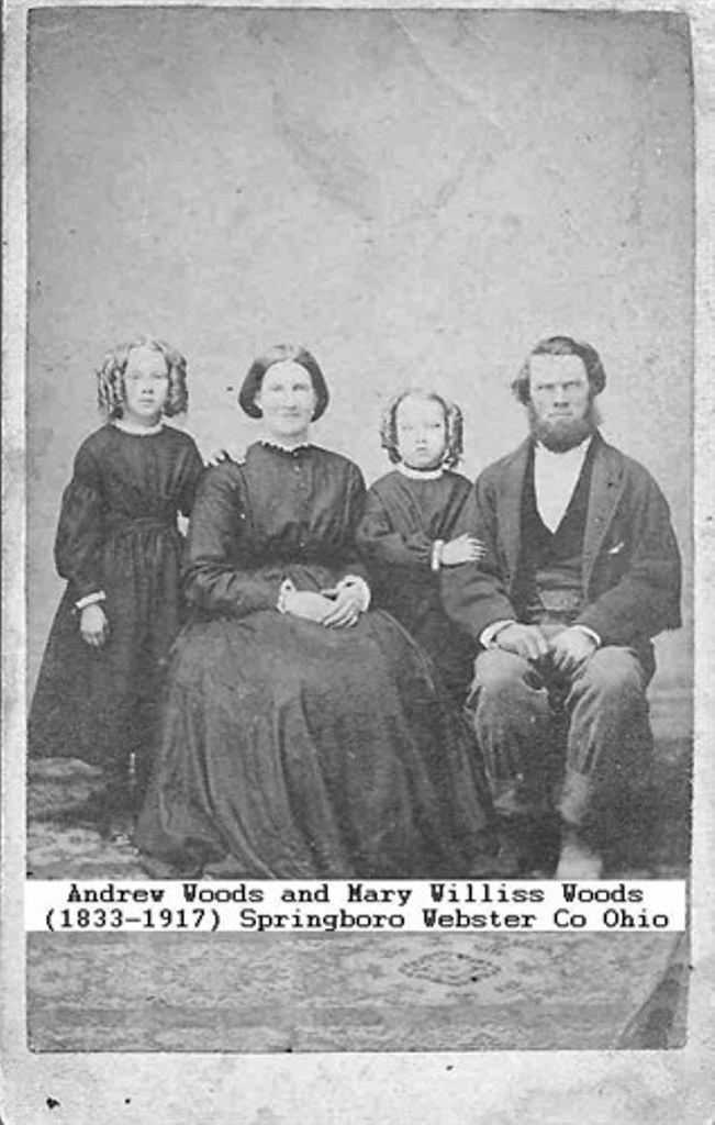 Mary Williss, first cousin of Wesley John Williss, g-g-g-g gf
