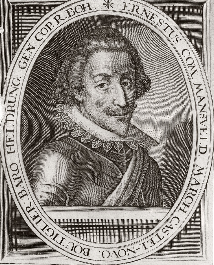 Peter Ernst II of Mansfield invaded and plundered Dedeiseheim and nearby area in 1620-21