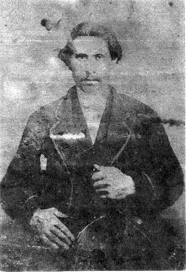 Pierre Weissent (1830, Obersteinbach - 1903, Monroe County, Ohio), younger brother of Barbara Weissent