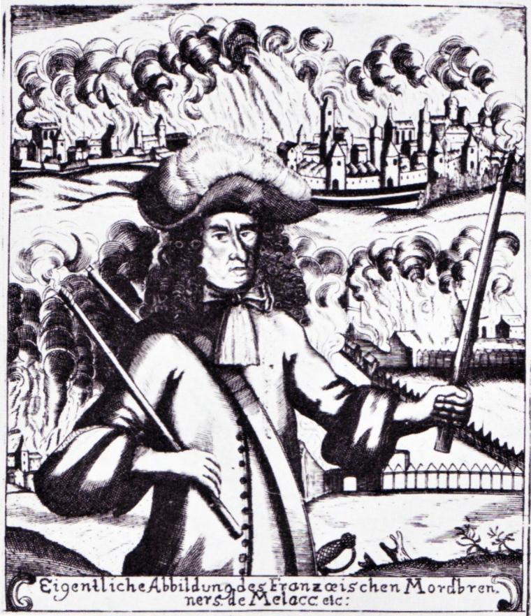 The Comte de Mélac_ General under Louis XIV