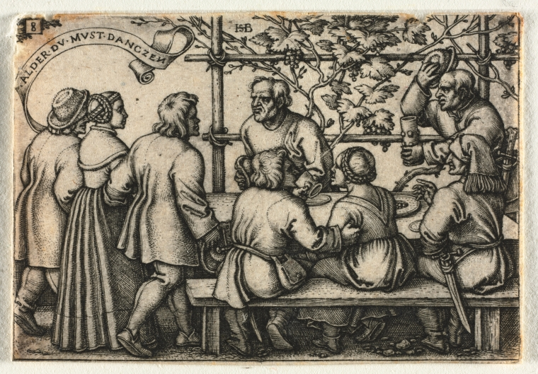 The Peasant Wedding or the Twelve Months No. 8 1950.479.8_print