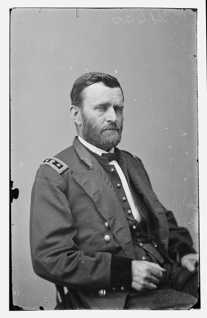 Ulysses S. Grant from Library of Congress